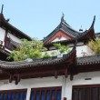 Chinese tiled roof — Stock Photo