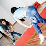 Dancing woman — Stock Photo #1681290