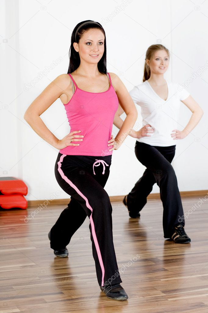 Group of doing stretching exercise  Stock Photo #1681135