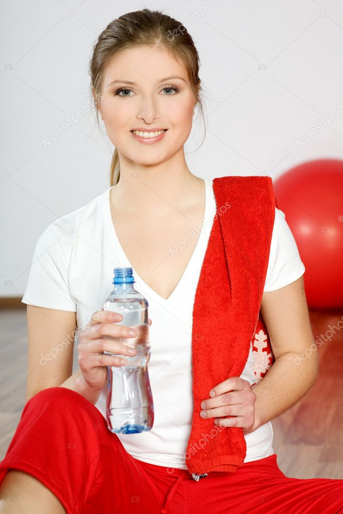 Fit woman — Stock Photo #2221605