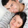 Young happy couple — Stockfoto