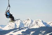 Skilift — Stock Photo