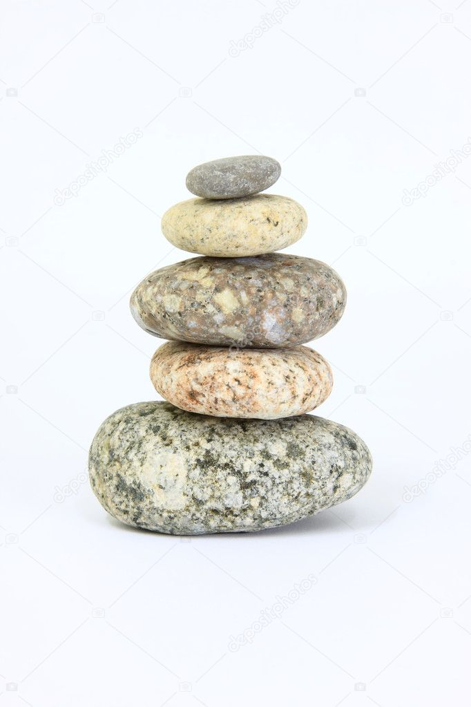 Harmony still-life from pebble — Stock Photo #1765325