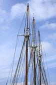 3 mast — Stock Photo