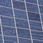 painéis solares — Foto Stock