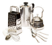 Metal utensils — Stock Photo