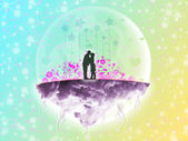 Extraterrestrial love — Stock Photo