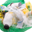 Royalty-Free Stock Photo: Garbage on white background