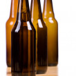 Beer bottles background — Stock Photo