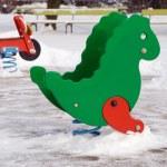 jouets jeux pour en hiver — Photo
