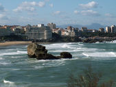 Seaside of Biarritz — Stock Photo
