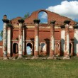 Ruins of XIX century house — Stock Photo