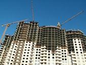 Housebuilding — Stock Photo