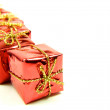 Christmas gifts package - Stock Photo