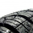 Car tyre - Stock Photo
