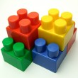 Color play blocks — Stock Photo #1749650