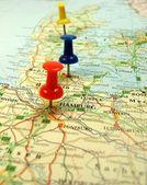 Travel destination — Stock Photo