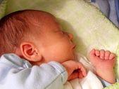 眠っている赤ちゃん — ストック写真