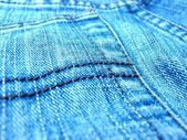 Jeans material — Stock Photo