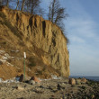 Cliff in Gdynia, Poland - Stock Photo