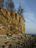 Cliff in Gdynia, Poland — Foto de Stock