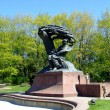 Frederick Chopin monument - Stock Photo