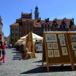 Old Town in Warsaw, Poland - Stock Photo