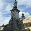 Adam Mickiewicz monument in Krakow - Stock Photo
