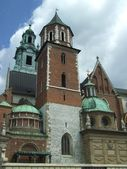 Wawel Cathedral in Cracow, Poland — Stock Photo