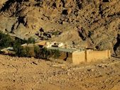 Saint Catherine Monastery on Sinai — Stock Photo