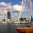 Marina in Gdynia - Stock Photo