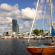 Marina in Gdynia — Foto de Stock