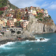 A Village in Cinque Terre, Italy - Stock Photo