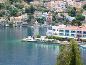 Panormitos Town in Greece — Stock Photo