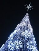 Electric Christmas Tree — Stock Photo