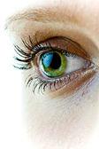 Feminine eye — Stock Photo