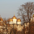 Domes of church in Old Moscow - Stock Photo