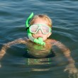 Boy with diving mask — Stock Photo #1797885