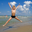 Flying boy — Stock Photo #1797994