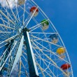 Ferris Wheel. Vertical — Stock Photo