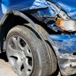 Wrecked Car. Vertical — Stock Photo #1798207