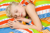Sleeping child — Foto Stock