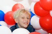 Boy and Balloons 3 — Stock Photo