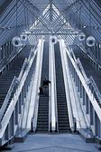 エスカレーター — ストック写真