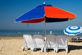 Beach umbrella — Foto de Stock