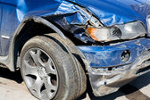 Wrecked Car — Stock Photo