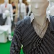 Stock Photo: Men`s mannequin inside a clothing store