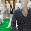 Men`s mannequin inside a clothing store — Stock Photo