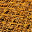 Stock Photo: Rusty iron net