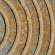 Rust abstract texture — Stock Photo